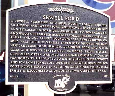 sewell ford heritage. Cars Review. Best American Auto & Cars Review